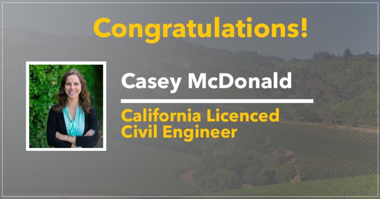 Casey McDonald, Professional Engineer