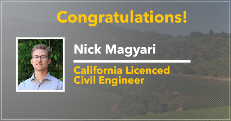 Nick Magyari, Professional Engineer